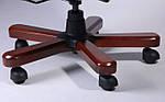 Кресло Ричмонд, кожа черная (642-B+PVC), Бесплатная доставка, фото 8