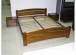 """Кровать двуспальная """"Венеция"""" из щита бука 160*200, Эстелла (Украина), фото 5"""