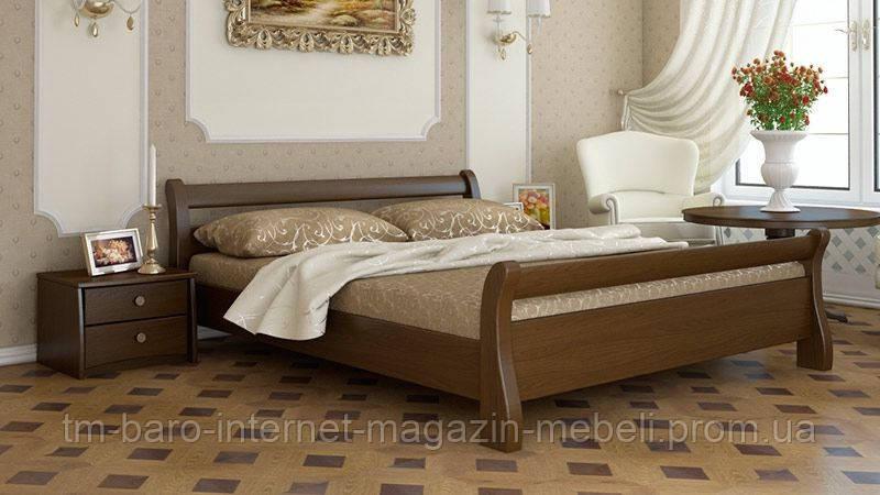 """Кровать двуспальная """"Диана"""" из массива бука 160*200, Эстелла (Украина)"""
