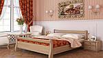"""Кровать двуспальная """"Диана"""" из массива бука 160*200, Эстелла (Украина), фото 3"""