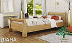 """Кровать двуспальная """"Диана"""" из массива бука 180*200, Эстелла (Украина), фото 2"""