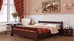 """Кровать двуспальная """"Диана"""" из щита бука 160*200, Эстелла (Украина), фото 7"""