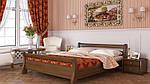 """Кровать двуспальная """"Диана"""" из щита бука 160*200, Эстелла (Украина), фото 9"""