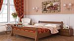 """Кровать двуспальная """"Диана"""" из щита бука 160*200, Эстелла (Украина), фото 10"""