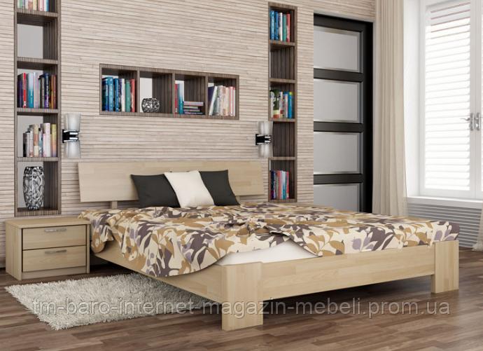 """Кровать двуспальная """"Титан"""" из щита бука  160*200, Эстелла (Украина)"""