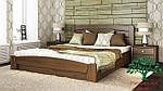 """Кровать двуспальная с подъёмным механизмом """"Селена Аури"""" из щита бука 180*200, Эстелла (Украина), фото 4"""