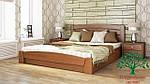 """Кровать двуспальная с подъёмным механизмом """"Селена Аури"""" из щита бука 180*200, Эстелла (Украина), фото 7"""