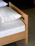 """Кровать односпальная """"Диана"""" из щита бука 80*190, Эстелла (Украина), фото 2"""