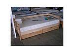 """Кровать подростковая """"Нота 102"""" из щита бука 80*190, Эстелла (Украина), фото 8"""