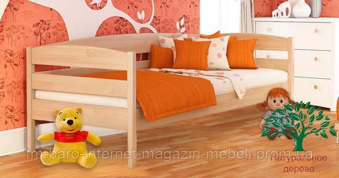 """Кровать подростковая """"Нота Плюс 102"""" из щита бука 80*190, Эстелла (Украина)"""