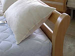"""Кровать полуторная """"Диана"""" из щита бука 120*200, Эстелла (Украина), фото 4"""