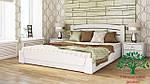 """Кровать полуторная с подъёмным механизмом """"Селена Аури"""" из массива бука 120*200, Эстелла (Украина), фото 9"""