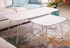Стол журнальный Lyon S (Лион С), белый (Бесплатная доставка), Nicolas