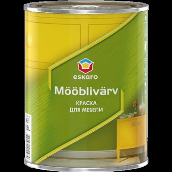 Краска для мебели Eskaro Mooblivarv 0,9л