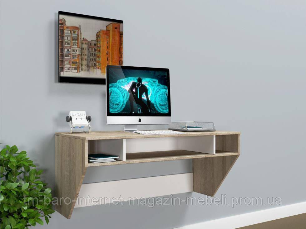 """Стол компьютерный навесной """"Zeus"""" AirTable-II SW Mini сонома"""