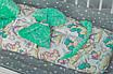 """Конверт-трансформер с плюшем Минки для малыша на выписку """"Единороги"""", фото 3"""