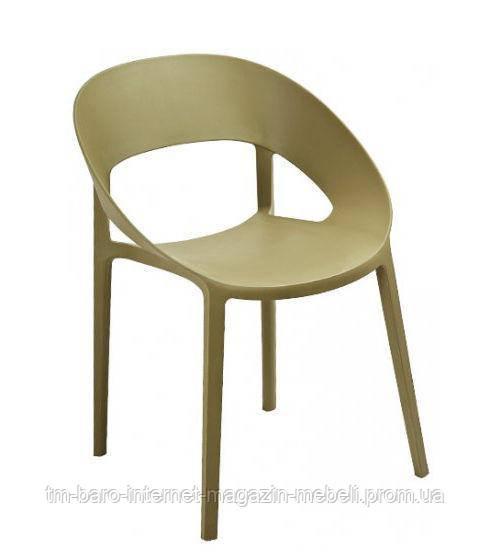 "Кресло ""Шелл"" (ПЛ зеленый чай), Domini"