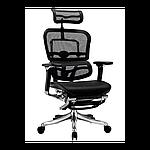 Эргономичное компьютерное кресло ERGOHUMAN Plus, с раскладной подставкой для ног, фото 2
