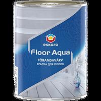 Акриловая эмаль для пола Eskaro Floor Aqua 2,7л (без запаха)