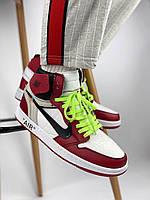 Кроссовки Air Jordan 1 x Off White Chicago , фото 1