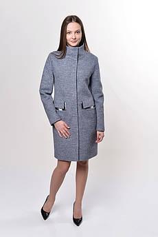 Пальто женское  Татьяна Филатова модель 191 темно серый