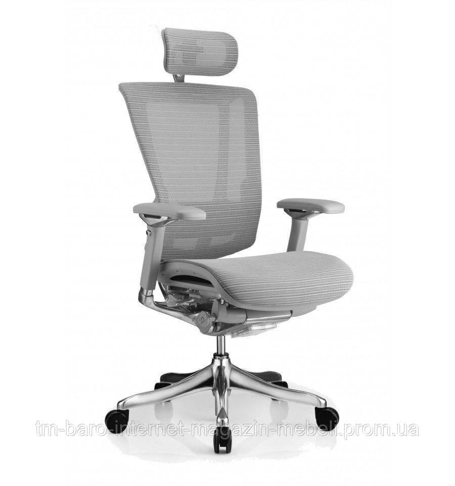Кресло Nefil Luxery Mesh, серый