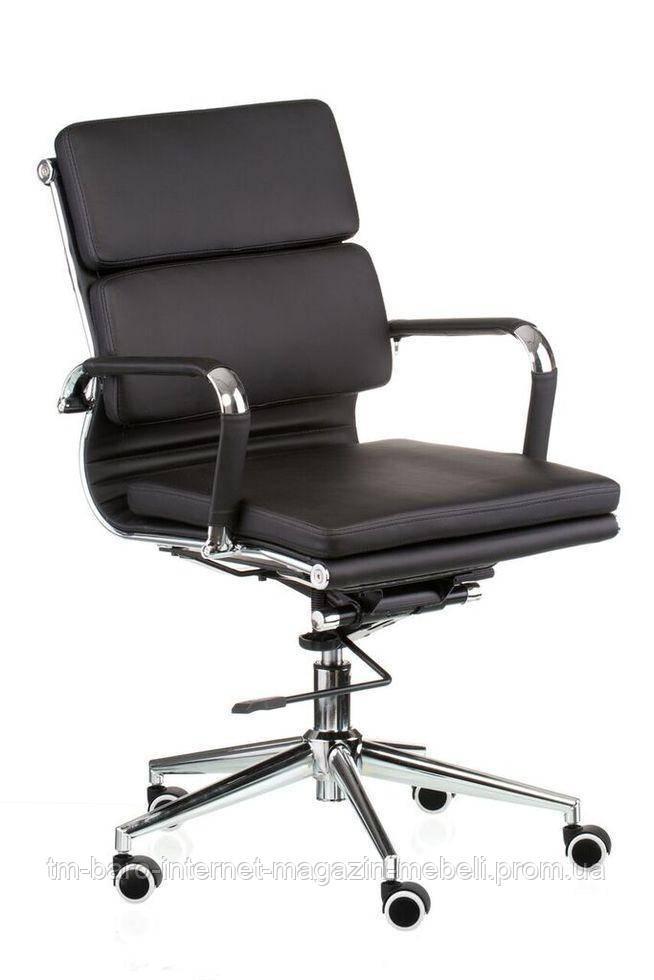 Кресло Solano 3 artleather black (E4800), Special4You (Бесплатная доставка)