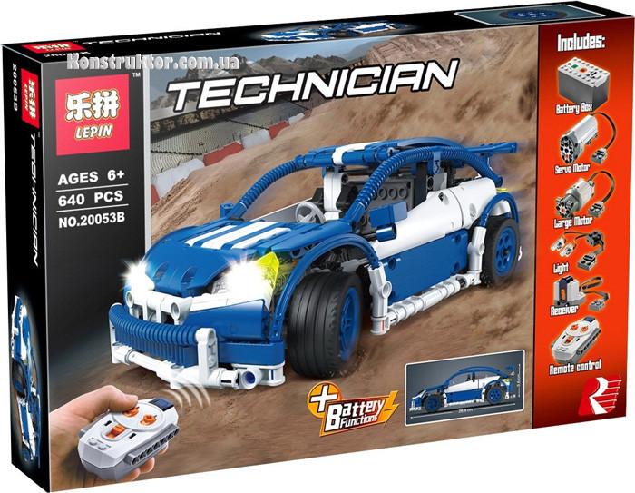 "Конструктор Lepin 20053B ""Хэтчбек MOC-6604"" 640 деталей. Аналог Lego Technic 6604"