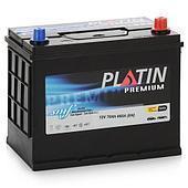 Аккумулятор автомобильный Platin Battery Premium 75AH R+ 700A Asia