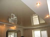 Двухуровневые потолки с подсветкой.
