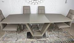 Стол обеденный DETROIT (160/220*90*76cmH) мокко, Nicolas