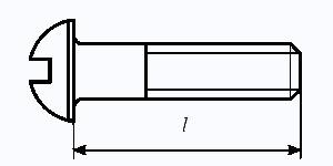Определение длины винта