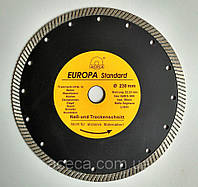 """Диск алмазный """"Evropa"""" 230 * 22.2 мм. турбо"""
