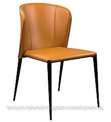 Стул кожаный Arthur (Артур) Concepto, светло-коричневый
