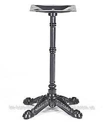 Опора для стола Renaissance (Ренесанс) Concepto, 73 см черная