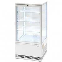 Витрина холодильная настольная Stalgast 78 л (белая)