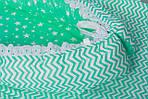 """Кокон-гнездышко для новорожденного""""Мятный зи-заг"""", фото 4"""