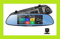 Зеркало видеорегистратор K35/K36. 3G,7'' экран, навигация,регистратор