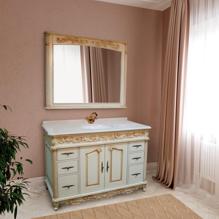 Тумба для ванной комнаты Marsan Olympia 1270 айвори
