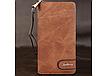 Портмоне Baellerry Denim (S1514 )Унисекс Джинсовый Портмоне удобный Бумажник кожаный Original Size, фото 4