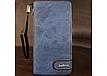 Портмоне Baellerry Denim (S1514 )Унисекс Джинсовый Портмоне удобный Бумажник кожаный Original Size, фото 5