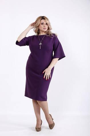 Женское повседневное офисное деловое платье размеры: 42-74, фото 2