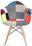 Кресло M-02, пэчворк (Прайз), Eames, фото 2