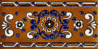 Gresmanc Rodamanto Loseta R-1 клинкерный декоративный элемент размер 120x245 и 150x310 мм