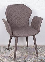 Кресло VALENCIA (60*68*88 cm - текстиль) кофейный, Nicolas