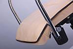 Кресло Самба-RC Хром орех Мадрас голд беж с кантом, фото 7