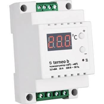 Терморегулятор для теплого пола terneo b, фото 2