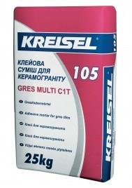 Клей для керамогранита Kreisel GRES MULTI 105