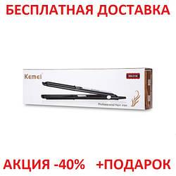 Профессиональный утюжок - выпрямитель для волос Kemei GB-KM 2139 с керамическим покрытием Original size
