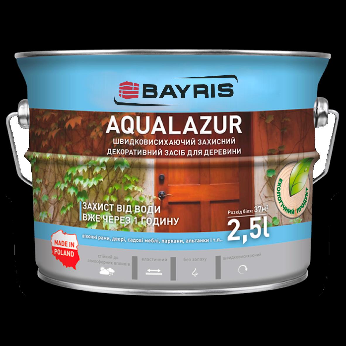 Aqualazur швидковисихаюча БАЙРІС тік 2,5 л